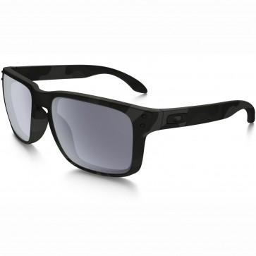 Oakley Holbrook Polarized Sunglasses - Multicam Black/Grey