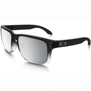 Oakley Holbrook Polarized Sunglasses - Grey Ink Fade/Chrome Iridium