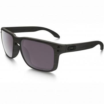 Oakley Holbrook Polarized Sunglasses - Woodgrain/Prizm Daily