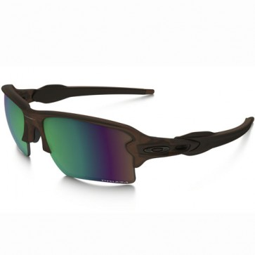 Oakley Flak 2.0 XL Polarized Sunglasses - Matte Rootbeer/Prizm Shallow Water