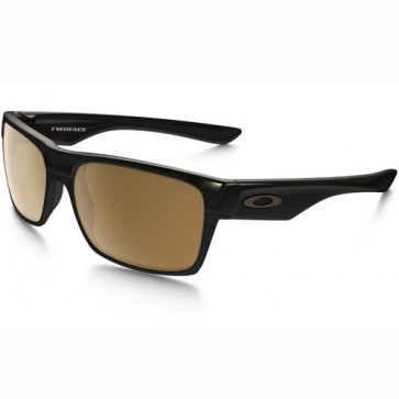 Oakley Twoface Sunglasses - Polished Black/Dark Bronze