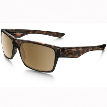 Oakley Twoface Polarized Sunglasses - Tortoise/Tungsten Iridium