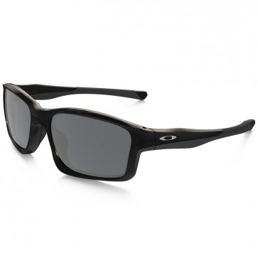 Oakley Chainlink Sunglasses - Polished Black/Black Iridium