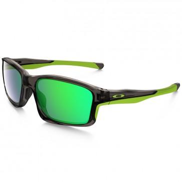 Oakley Chainlink Sunglasses - Grey Smoke/Jade Iridium