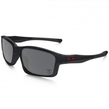 Oakley Chainlink Ferrari Sunglasses - Matte Steel/Black Iridium