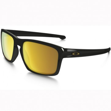 Oakley Sliver Sunglasses - Polished Black/24K Iridium