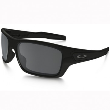 Oakley Turbine Sunglasses - Polished Black/Black Iridium