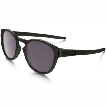 Oakley Latch Polarized Sunglasses - Woodgrain/Prizm Daily