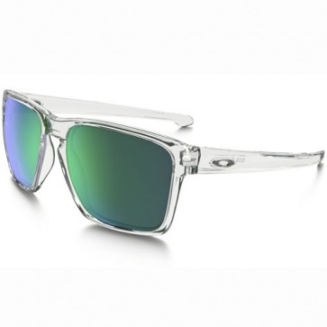 Oakley Sliver XL Sunglasses - Polished Clear/Jade Iridium