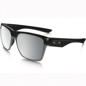 Oakley Twoface XL Sunglasses - Polished Black/Chrome Iridium