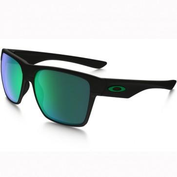 Oakley Twoface XL Sunglasses - Matte Black/Jade Iridium
