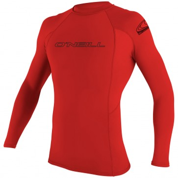 O'Neill Wetsuits Basic Skins Long Sleeve Crew - Red