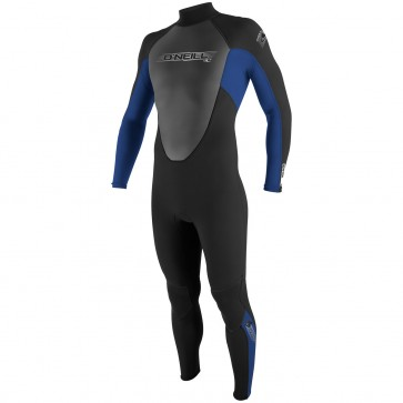 O'Neill Youth Reactor 3/2 Full Wetsuit - Black/Pac Blue