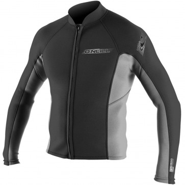 O'Neill Superlite 2mm Jacket - Black/Smoke