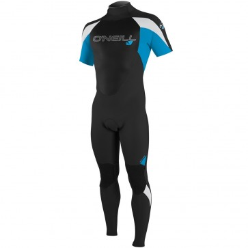 O'Neill Epic 2mm Short Sleeve Full Wetsuit - Black/Sky/White