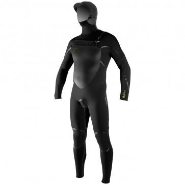 O'Neill Heat 6/5/4 Hooded Wetsuit - Black