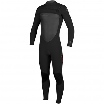 O'Neill SuperFreak 3/2 Chest Zip Wetsuit - Black