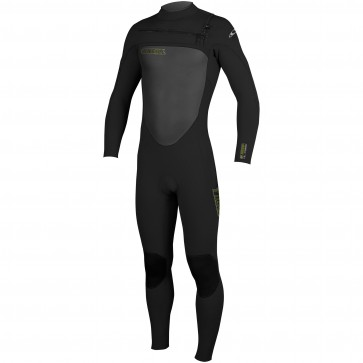 O'Neill Youth SuperFreak 5/4 Chest Zip Wetsuit - Black