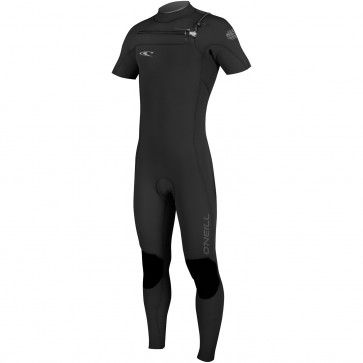 O'Neill HyperFreak 2mm Short Sleeve Full Wetsuit - Black/Graphite
