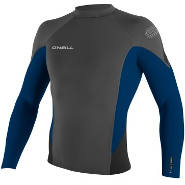 O'Neill Wetsuits HyperFreak 1.5mm Jacket - Graphite/Deep Sea/Black