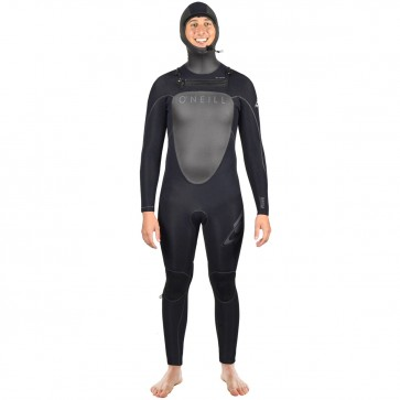 O'Neill TB2 Mutant 4.5/3.5 Hooded Wetsuit - Black