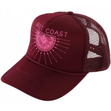 O'Neill Women's Coast Trucker Hat - Rust