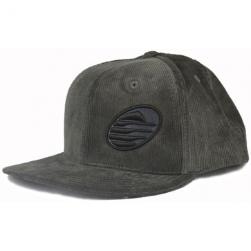 Cleanline Embroidered Rock Hat - Charcoal/Black