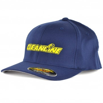 Cleanline Embroidered Corp Logo Hat - Navy/Yellow