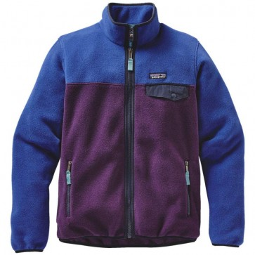 Patagonia Women's Full-Zip Snap-T Fleece Jacket - Panther Purple