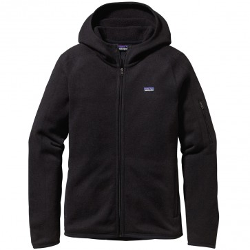 Patagonia Women's Better Sweater Zip Hoodie - Black
