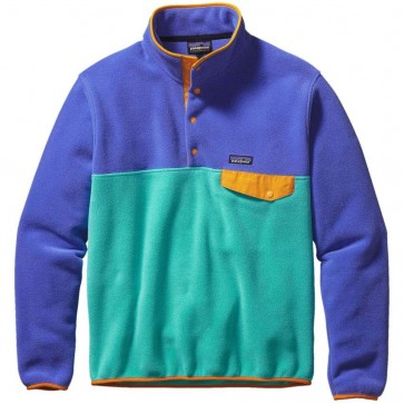 Patagonia Lightweight Synchilla Snap-T Fleece Pullover - Howling Turquoise
