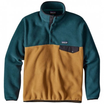 Patagonia Lightweight Synchilla Snap-T Fleece Pullover - Oaks Brown