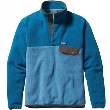 Patagonia Lightweight Synchilla Snap-T Fleece Pullover - Underwater Blue