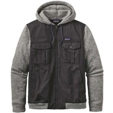 Patagonia Better Sweater Hybrid Fleece Hoody - Forge Grey