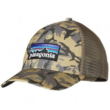 Patagonia P-6 LoPro Trucker Hat - Big Camo/Classic Tan