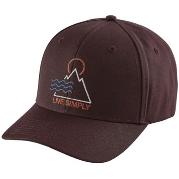 Patagonia Live Simply Santa Anas Roger That Hat - Wander Brown
