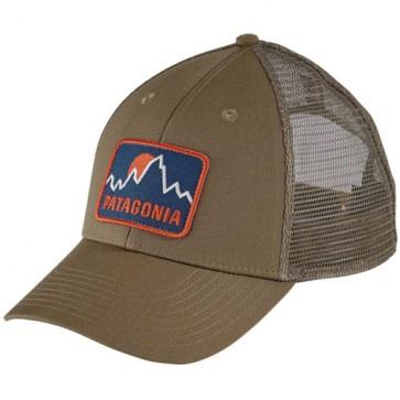 Patagonia Firstlighters Badge LoPro Trucker Hat - Ash Tan