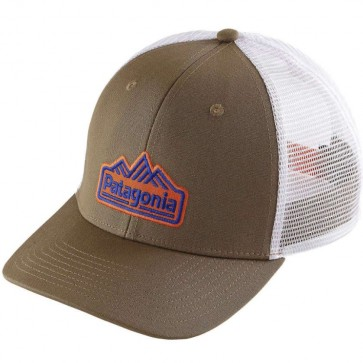 Patagonia Range Station Trucker Hat - Ash Tan