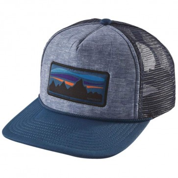 Patagonia Fitz Roy Banner Interstate Hat - Glass Blue