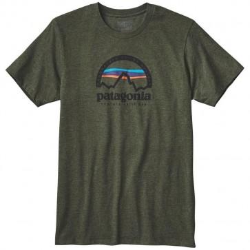 Patagonia Arched Logo T-Shirt - Urbanist Green