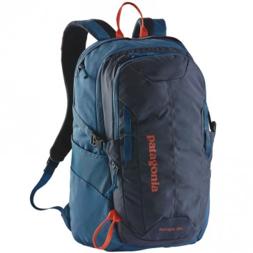Patagonia Refugio 28L Backpack - Smolder Blue/Glass Blue