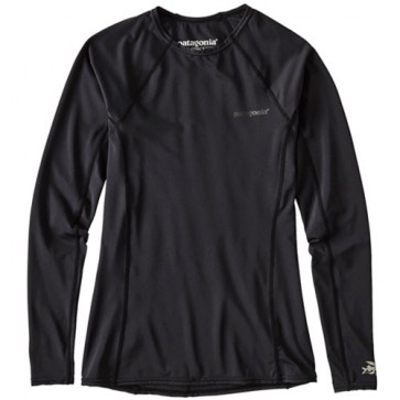 Patagonia Wetsuits Women's R0 Long Sleeve Rash Guard - Black