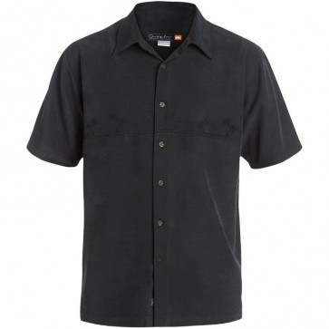 Quiksilver Tahiti Palms Shirt - Black