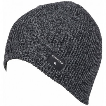 Quiksilver Cushy Beanie - Charcoal Heather