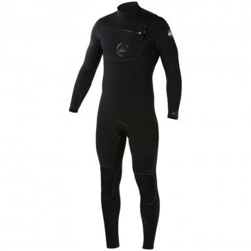 Quiksilver Cypher 3/2 Chest Zip Wetsuit - Black