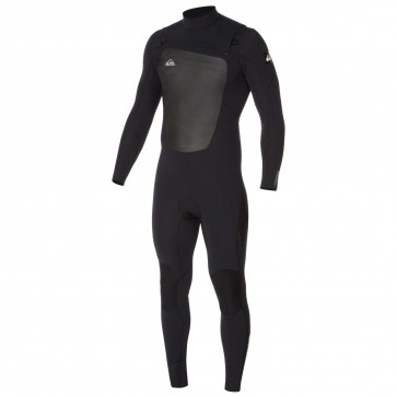 Quiksilver Syncro 4/3 Chest Zip Wetsuit - Black