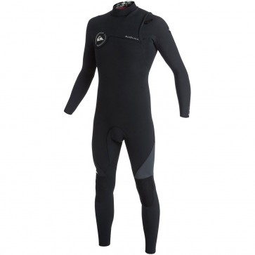 Quiksilver AG47 3/2 Zipperless Wetsuit - Black/Graphite