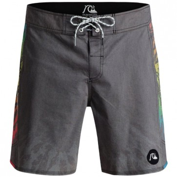Quiksilver Psych Arch Boardshorts - Psych Black