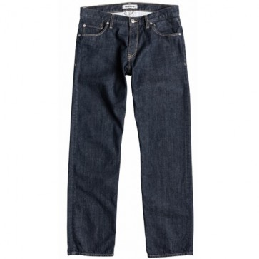 Quiksilver High Force Relaxed Fit Jeans - RInse
