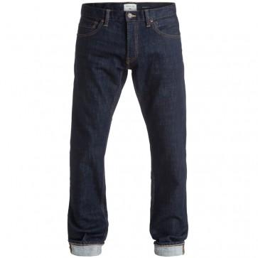 Quicksilver Revolver Straight Leg Jeans - Rinse